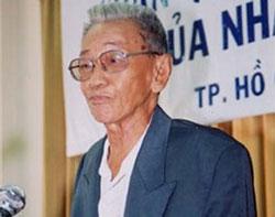 Nhà văn Sơn Nam. Hình: http://nhavansonnam.blogspot.com.