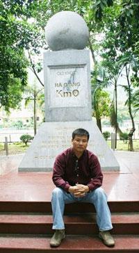 Trương Duy Nhất chụp tại Hà Giang. Photo courtesy of truongduynhat.vn.