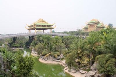Khu du lịch Lạc cảnh Đại nam Văn hiến tại tỉnh Bình Dương, ảnh chụp năm 2011. RFA PHOTO.