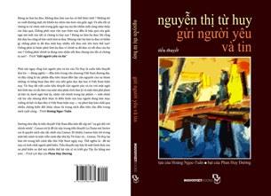 Bìa cuốn tiểu thuyết Gửi người yêu và tin của Nguyễn Thị Từ Huy