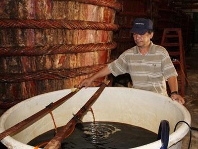 Sản xuất nước mắm truyền thống, ảnh minh họa. Courtesy vnn.