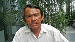 Tác giả tập truyện Bãi vàng, đá quý, trầm hương - Nguyễn Trí. Photo courtesy of trebook.com