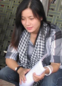Nhà thơ Chiêu Anh Nguyễn. Photo courtesy of TranHuuDungBlog.