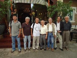 Cuộc gặp gỡ của nhóm Văn đoàn Độc lập Việt Nam tại Sài Gòn hồi tháng 1 năm 2014.
