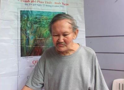 Nhà thơ phản chiến Nguyễn Bắc Sơn.