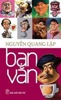 """Bìa sách """"Bạn văn"""". Photo courtesy of blog Quê Choa."""