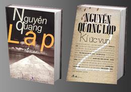 Cuốn Ký ức vụn của nhà văn Nguyễn Quang Lập. RFA files
