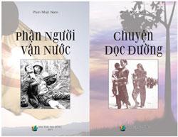 Bìa sách Phận người vận nước và Chuyện dọc đường của Nhà văn Phan Nhật Nam. Courtesy Tuần Báo Sống.