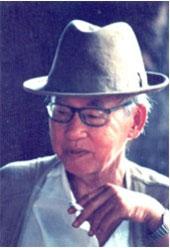 Thi sĩ Kiên Giang Hà Huy Hà. Photo courtesy of 'Một thời Sài Gòn'.