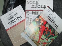 Tạp chí Sông Hương. Courtesy photo.