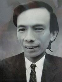 Chân dung nhà văn quá cố Phùng Gia Lộc- ảnh chutluulai.net