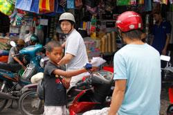 Trẻ nghèo thành phố- RFA photo