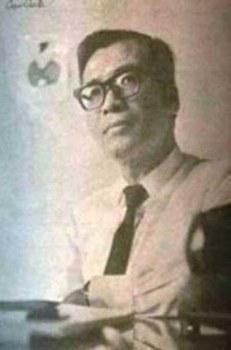 Chân dung Mặc Đỗ, ảnh Trần Cao Lĩnh.