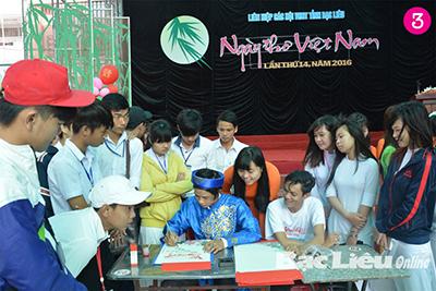 Ngày thơ Việt Nam diễn ra tại Bạc Liêu.