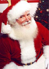 Ông già Noel (tạo hình bởi nhà sản xuất chương trình TV Jonathan Meath). Photo courtesy of Wikipedia.