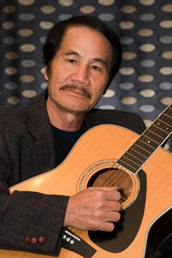 Nhạc sĩ Nhật Ngân. Hình do nhạc sĩ Nhật Ngân cung cấp.