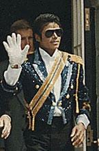 Michael Jackson vào năm 1984. Photo courtesy of Wikipedia.
