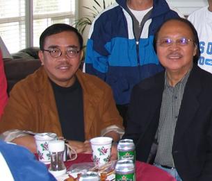 Trường Kỳ và Nam Lộc tai Vancouver tháng 5/2008 ở Canada