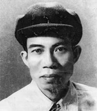 Nhà thơ Nguyễn Bính. Hình của Wikipedia.