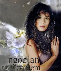 """Hình bìa dĩa DVD """"Ngọc Lan như là kỷ niệm"""""""