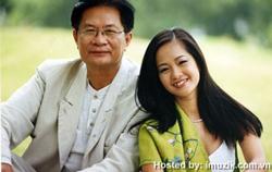 Nhạc sĩ Dương Thụ và ca sĩ Hồng Nhung. Photo courtesy of imuzik.com.vn
