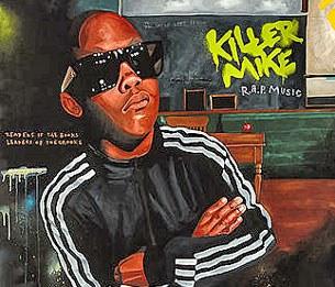 Một rapper nổi tiếng Killer Mike đây là hình bìa cuốn CD của anh.