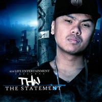 Thai tên khai sinh là Ngô Thái Minh, Thái đã thoát ra khỏi hình ảnh của 1 rapper Châu Á da vàng khi ký hợp đồng với 454 Life Entertainment. (congdongvip/454 life entertainment)