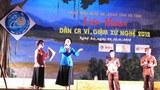 Liên hoan Dân ca ví, giặm xứ Nghệ năm 2012.