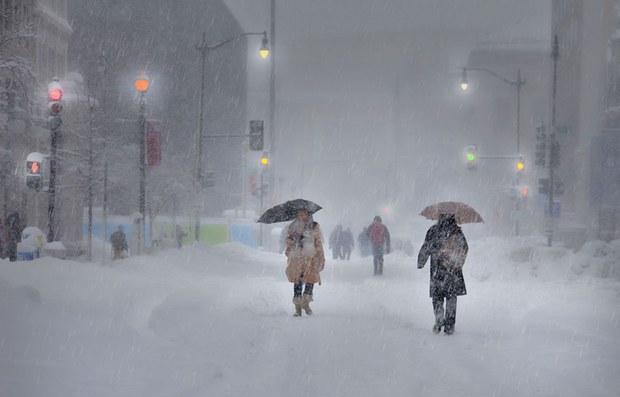 Mùa đông ở Washington DC năm 2010 (ảnh minh họa)