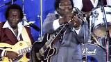 B.B.King tại Farm Aid năm 1985 vừa hát vừa thay một dây đàn bị đứt trong lúc trình diễn
