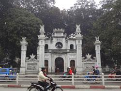Đền Trấn Vũ (Trấn Võ) ở Hà Nội. RFA photo.