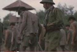 Binh sĩ VNCH trong trại tù cải tạo sau ngày 30.04.1975. Captured from youtube.