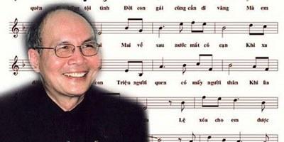 Nhạc sĩ Vũ Thành An. Courtesy photo.