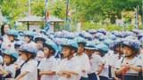 350 000 trẻ em đã nhận được mũ bảo hiểm