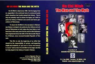 """Hình bìa DVD phim """"Hồ Chí Minh, con người và huyền thoại""""."""