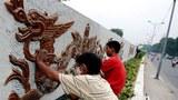 Công trình bức phù điêu dài 6km dọc sông Hồng chào mừng Đại lễ kỷ niệm 1.000 Thăng Long.