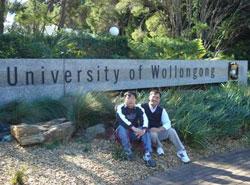 Trường Đại học Wollongong - Úc, nơi sinh viên VN thường chọn làm nơi học tập, nghiên cứu. Photo courtesy of vied.vn