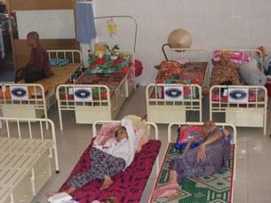 Phòng nghỉ của các cụ, hình chụp năm 2011