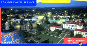 Đại Học Công Giáo Mỹ , The Catholic University of America. Screen capture