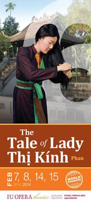 Poster Chuyện Bà Thị Kính / The Tale of Lady Thị Kính (Courtesy An Vi Hoang)