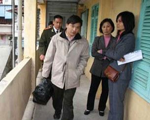 Luật sư bất đồng chính kiến Nguyễn Văn Đài được trả tự do