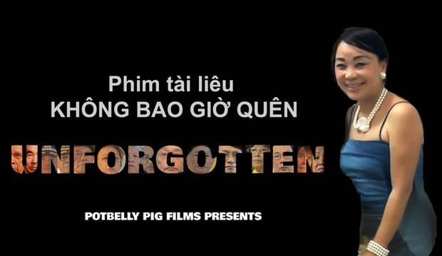 Tác giả bộ phim, nhà văn, nhà báo, người sáng lập kiêm đạo diện của Potbelly Pig Films, cô Diễm Thúy
