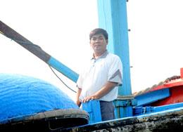 Thuyền trưởng Trương Văn Hay. Courtesy Nguyen Van  Dong