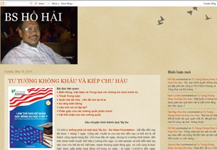 Trang bìa của Blog bshohai