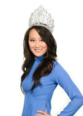 Phó Thanh Nhiên, Miss Vietnam DC 2009 (Ảnh do tác giả gởi)