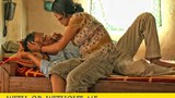 Người vợ đang chăm sóc cho anh Thi