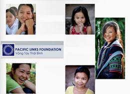 """Những nụ cười thơ ngây trở lại nhờ """"Vòng Tay Thái Bình"""".RFA/Pacific foundation"""