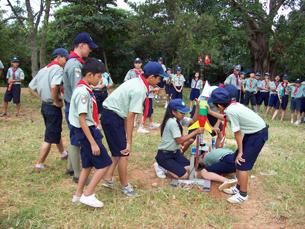 Trò chơi trong trại hè của Hướng Đạo Sinh