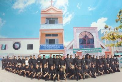 Trụ sở Tổng Hội Thánh Tin Lành Trưởng Lão Việt Nam tại xã Bình Hưng, huyện Bình Chánh. Hình do Tổng Hội Thánh Tin Lành Trưởng Lão VN cung cấp.