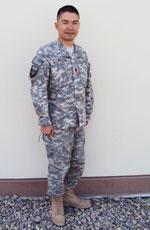 Thiếu tá Nguyen Trung chup ở Kabul Afghanistan. Photo fr Nguyen Trung